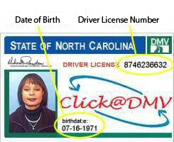 Nc dept of motor vehicles driver license for Bureau of motor vehicles michigan road license branch indianapolis in