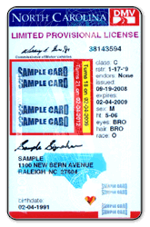 Vertical License Sample