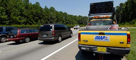 IMAP Truck on highway