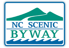 NC Scenic Byway sign