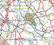 Bladen County Map