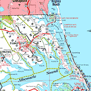 Currituck County Map