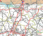Halifax County Map