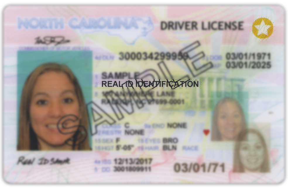 Real Id License Card