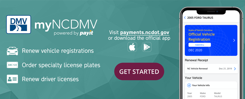 Official Ncdmv Myncdmv Online Payments