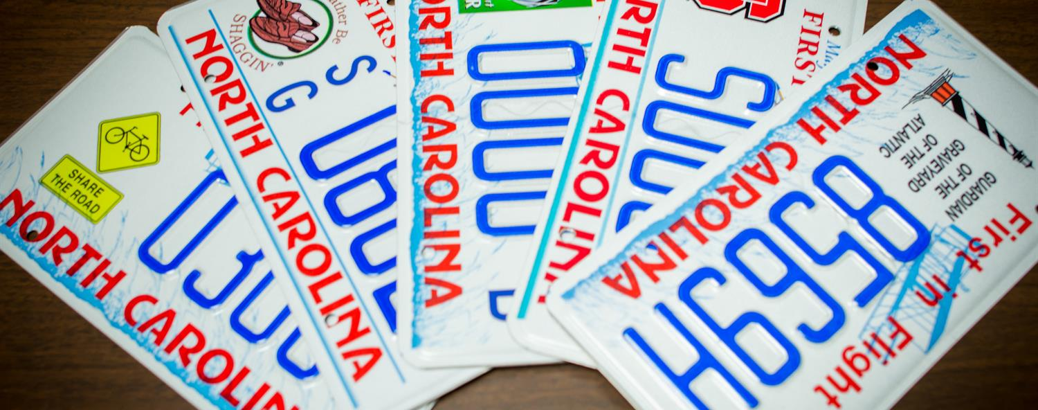 Official NCDMV: License Plates