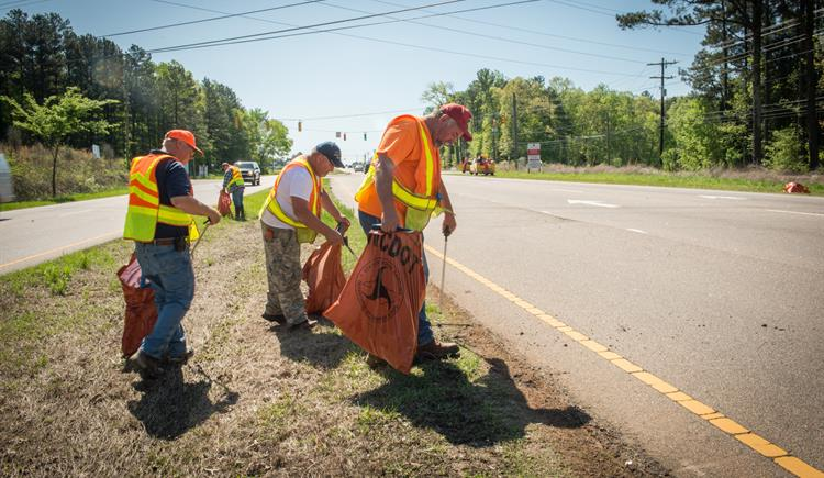 Volunteers Needed for Statewide Spring Litter Sweep