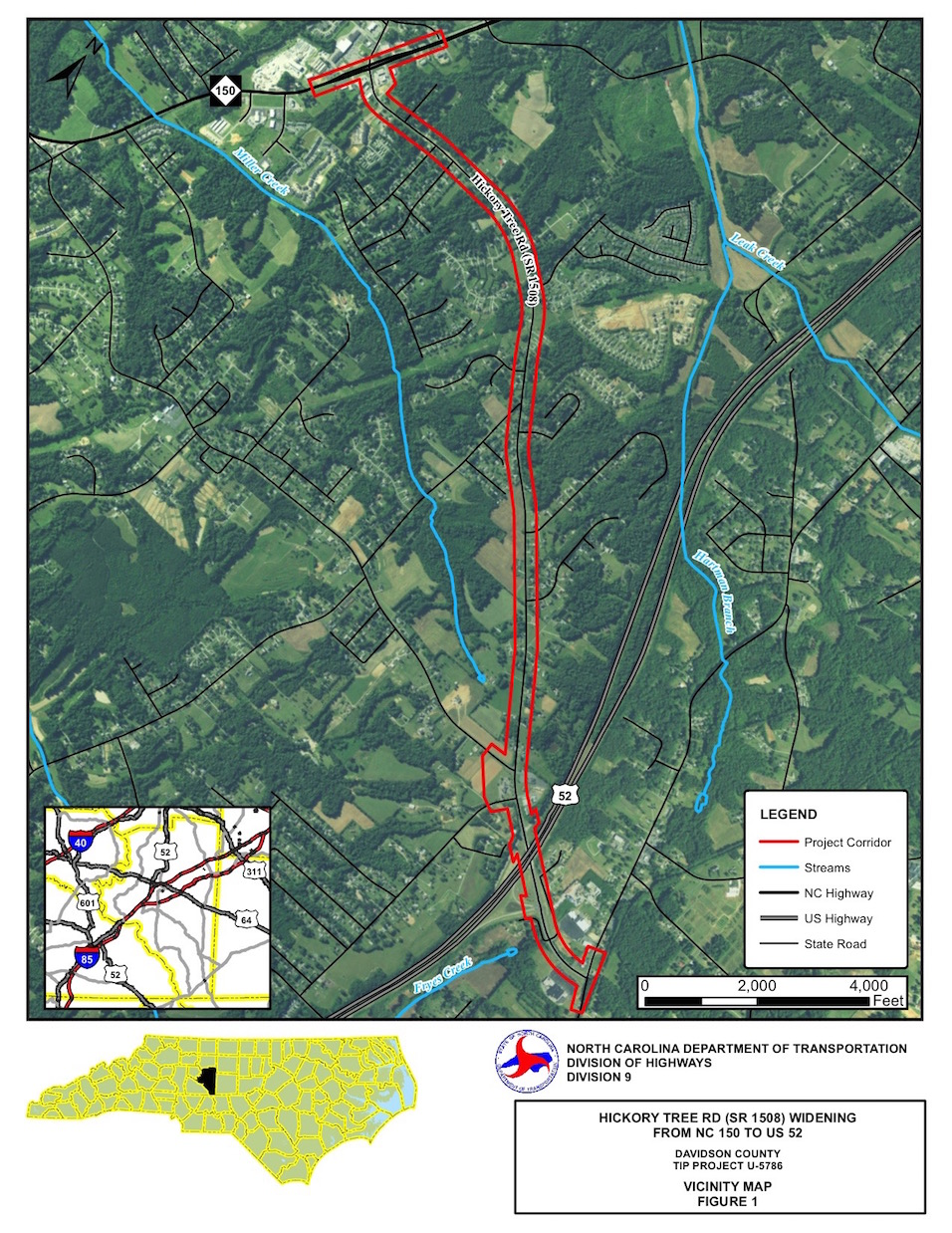 NCDOT: Public Meeting Planned For Hickory Tree Road Widening ... on tdot state map, n.c. division map, caltrans state map, nc state map, england map latitude and longitude map, indot state map, txdot state map,