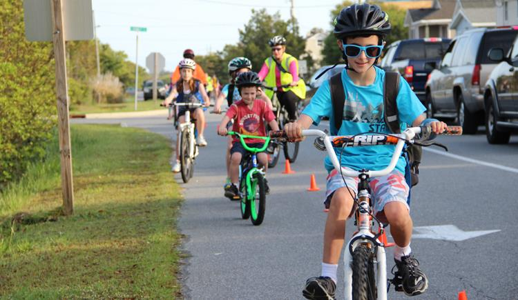 State Giving Children in Need Record Number of Bike Helmets