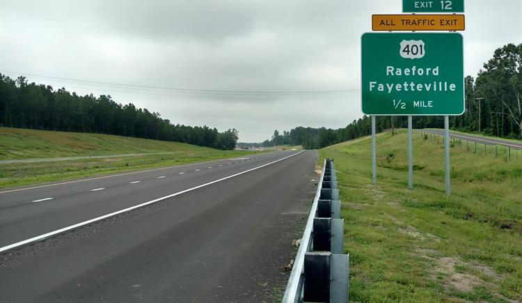Fayetteville Outer Loop opens to Raeford Road