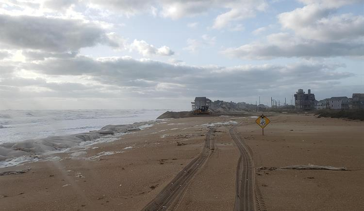 Highway 12 near Rodanthe on Tuesday