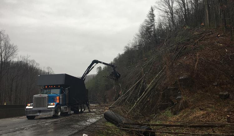 I-40 Slide Cleanup Taking One Week