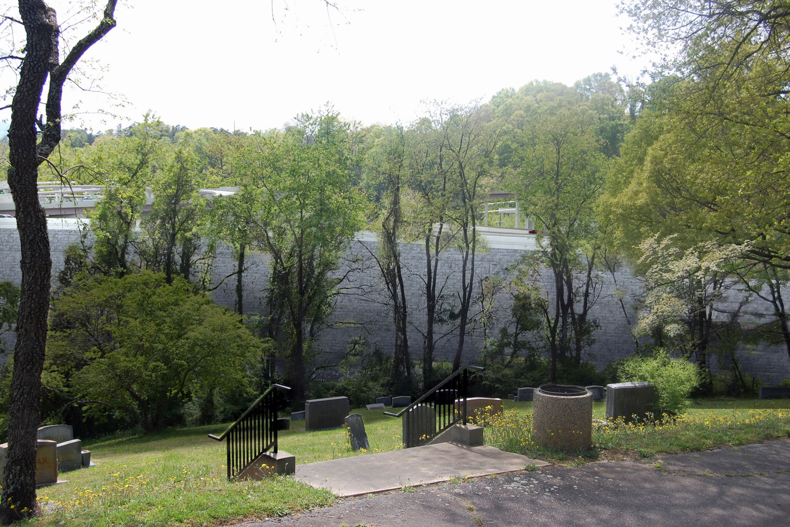 Riverside Cemetery viewpoint 1 proposed