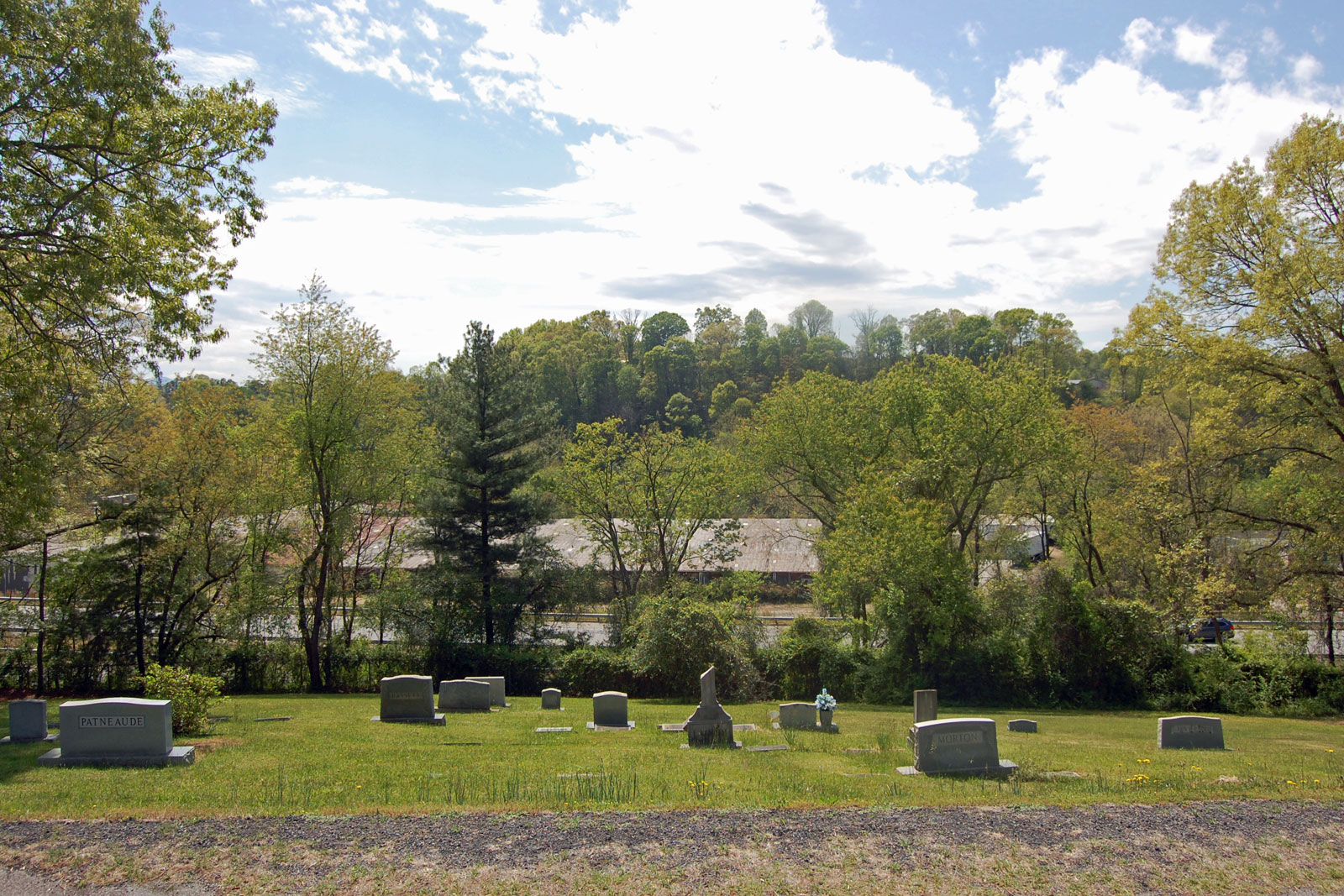 Riverside Cemetery viewpoint 2 existing