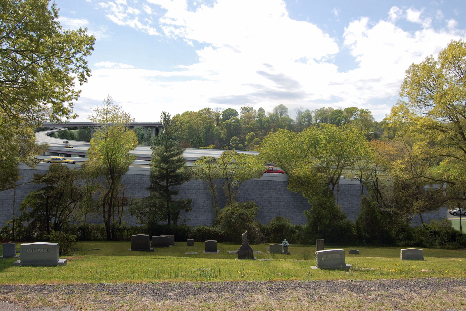 Riverside Cemetery viewpoint 2 proposed