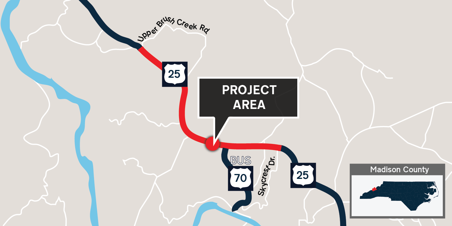 U.S. 25/U.S. 70 Improvements