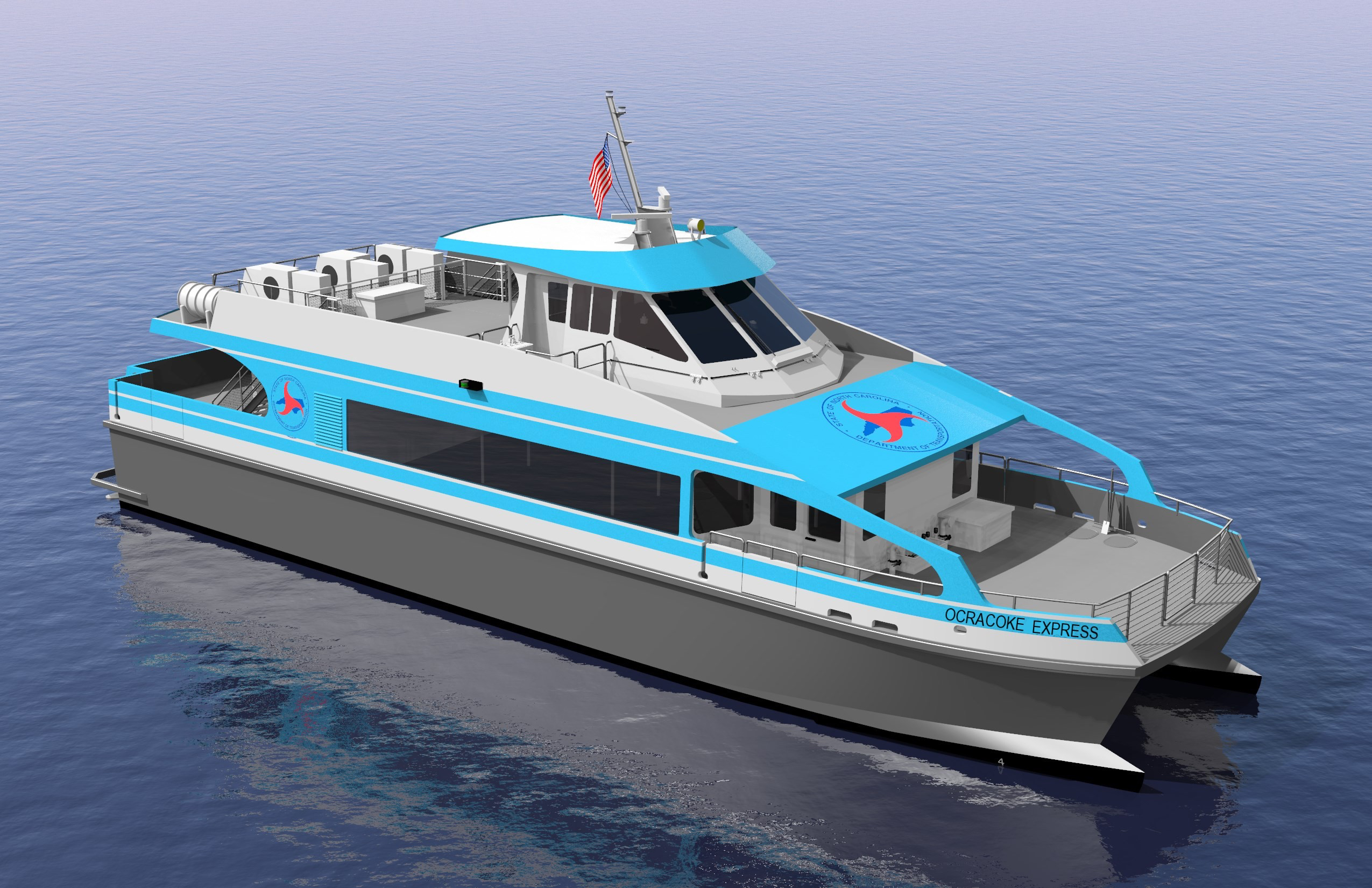 Ocracoke Express Passenger Ferry Service Available Summer 2018